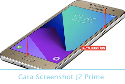 Cara Screenshot J2 Prime