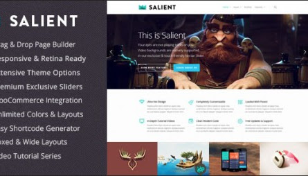 Nulled Salient v4.8.1 – Responsive Multi-Purpose Theme