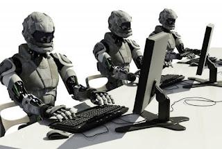 pekerja robot