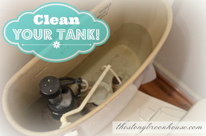 Nice Clean Toilet Tank!