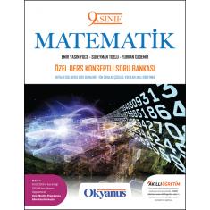 Okyanus 9.Sınıf Matematik Özel Ders Konseptli Soru Bankası