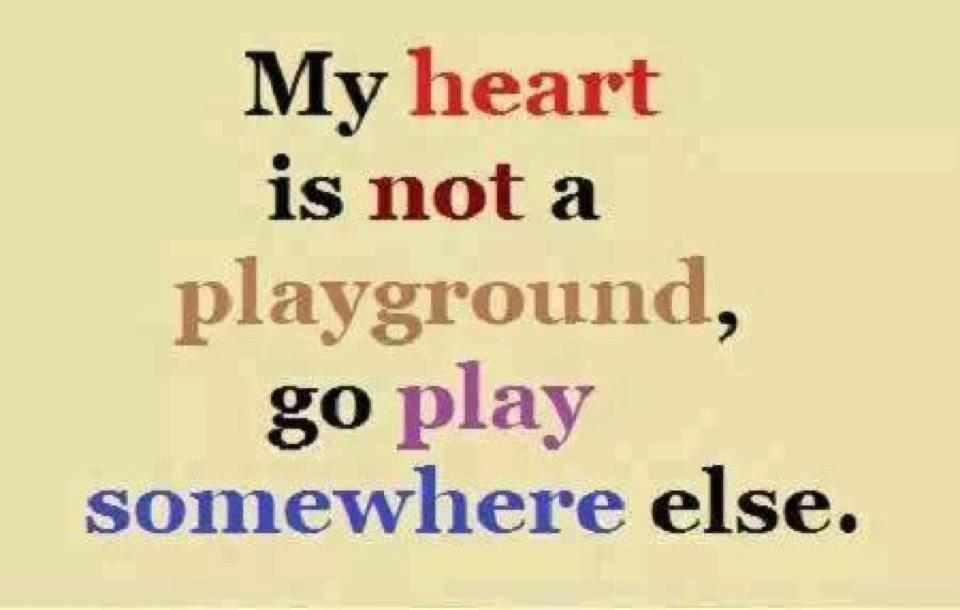 Playing With Heart Quotes. QuotesGram