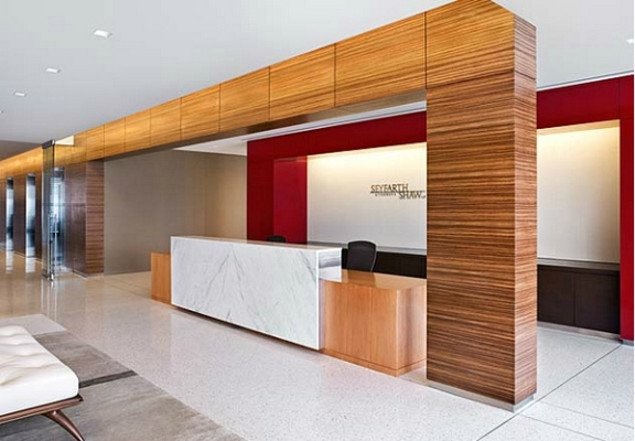 modern office counter design