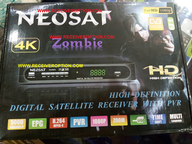 OLD MODEL NEOSAT ZOMBIE HD RECEIVER AUTO ROLL NEW SOFTWARE