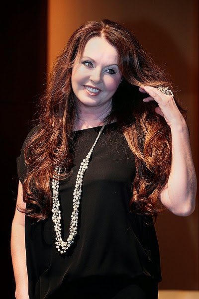 British singer Sarah Brightman, whose flight to the international space station