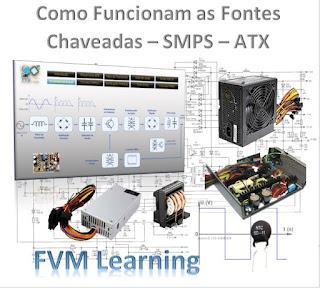 Como Funcionam as fontes de alimentação Chaveadas - SMPS - ATX