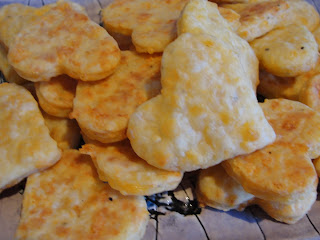 heart shaped crackers