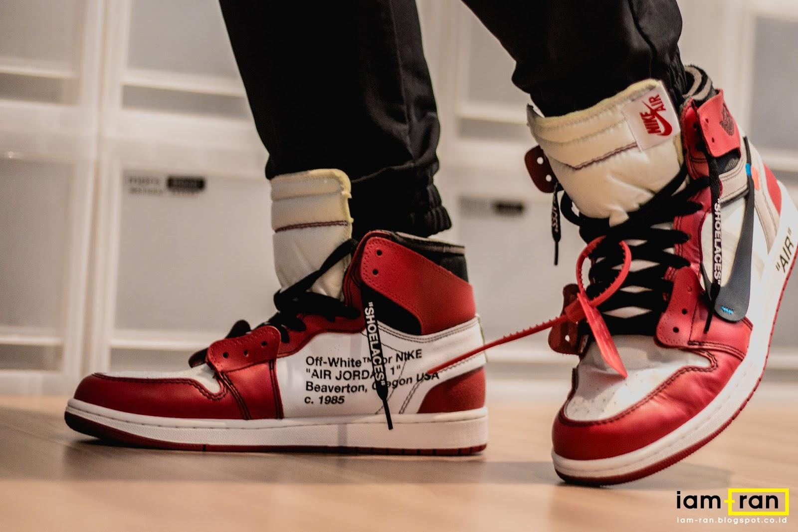 02cbe7b68c68 IAM-RAN  ON FEET   Dipsky - Nike Air Jordan 1 X Off White