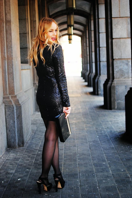 nery hdez, paillettes, vestido de lentejuelas, ax paris dress, lbd, oasap