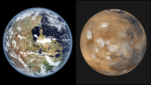 حياة على كوكب المريخ