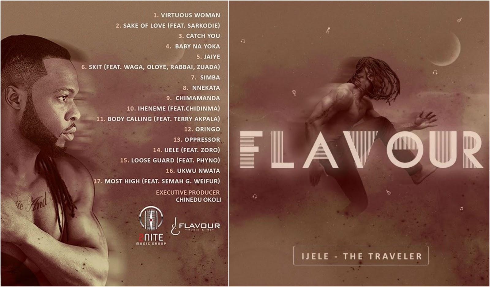 Flavour's 'Ijele The Traveler' Album Tracklist - Hit or Miss?