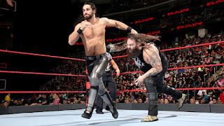 WWE Seth Rollins Bray Wyatt RAW