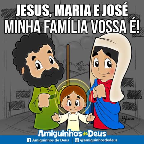 sagrada familia desenho