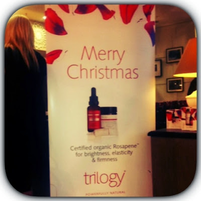 Trilogy Skin Care event in Arnotts Dublin  with vip magazine