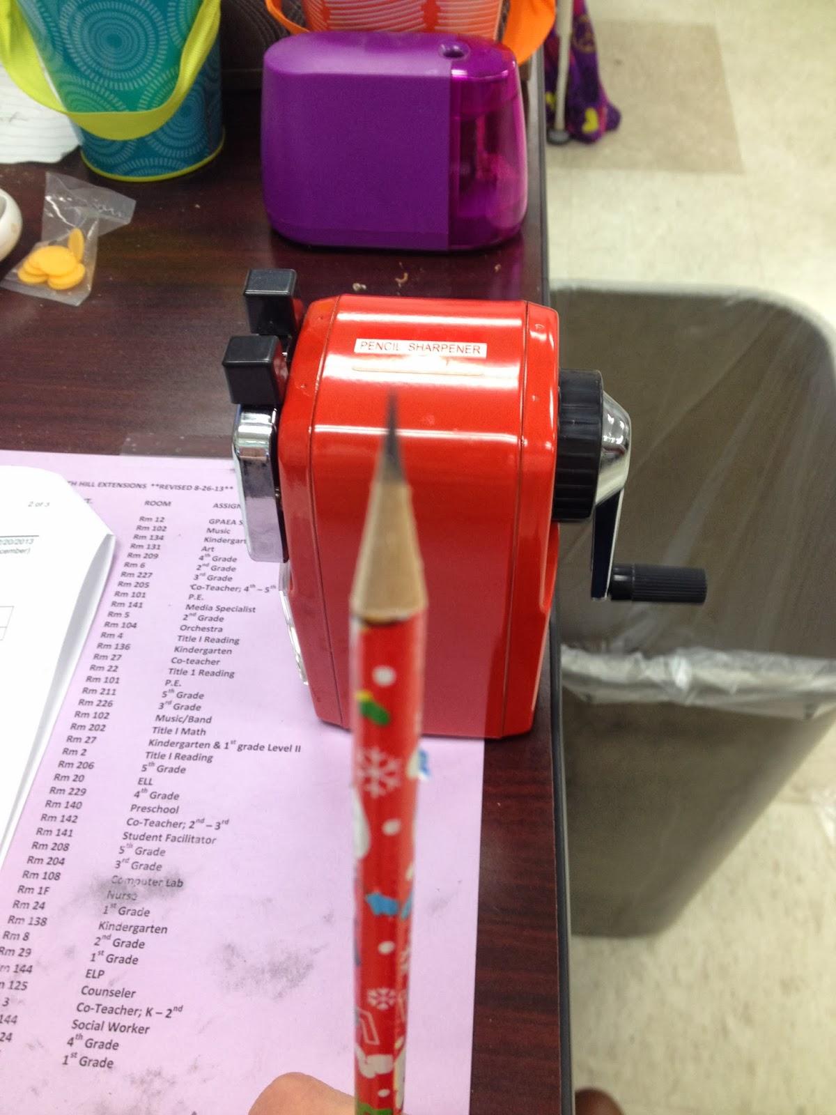 Classroom Friendly Supplies Pencil Sharpener Review