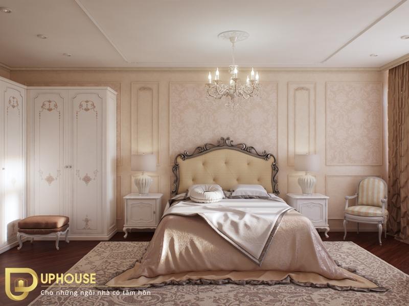 Phòng ngủ tân cổ điển đẹp 08