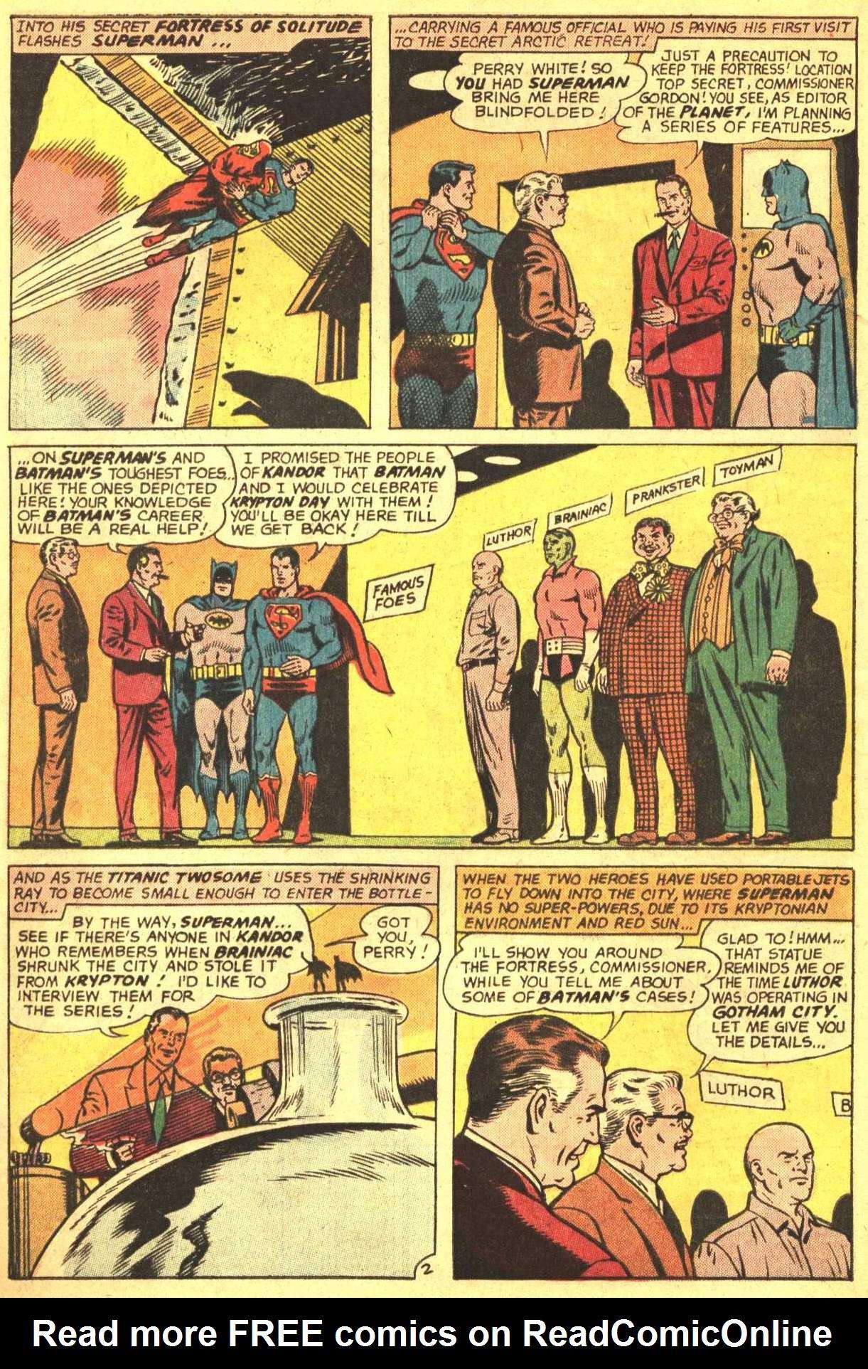 Read online World's Finest Comics comic -  Issue #159 - 4
