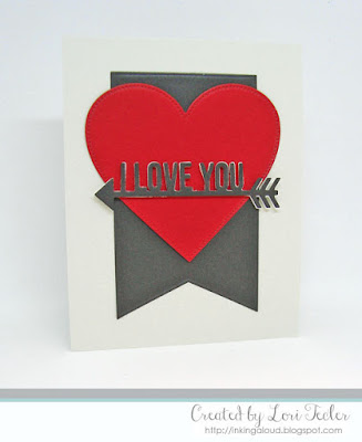 I Love You card-designed by Lori Tecler/Inking Aloud-dies from My Favorite Things