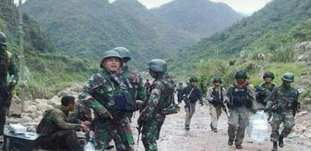 TNI Evakuasi 12 Korban Selamat di Papua, 4 Orang Tertembak