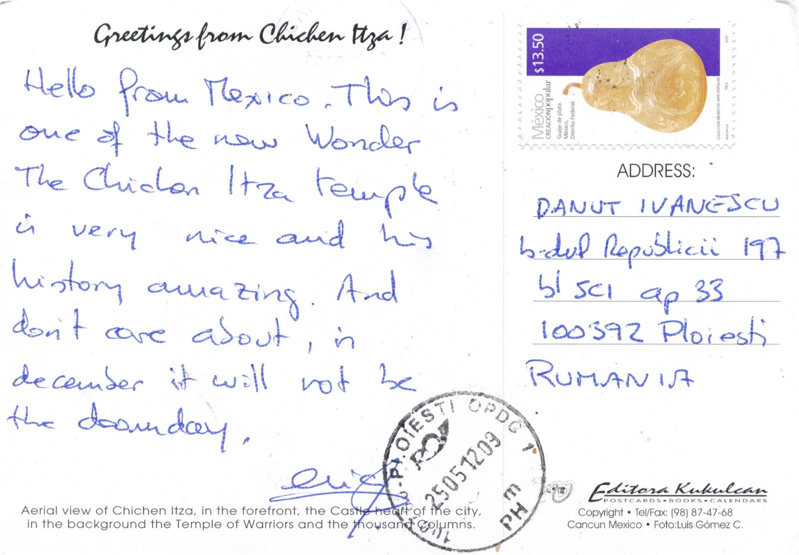 WORLD E TO MY HOME 0425 1817 MEXICO Yucatán Pre