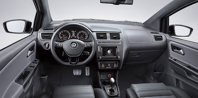 Novo Volkswagen Fox 2017 - CrossFox - interior