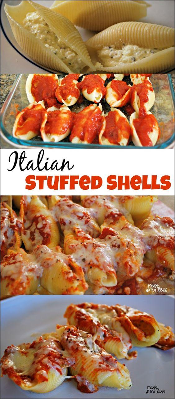 Stuffed Shells Recipe - Food Fun Friday