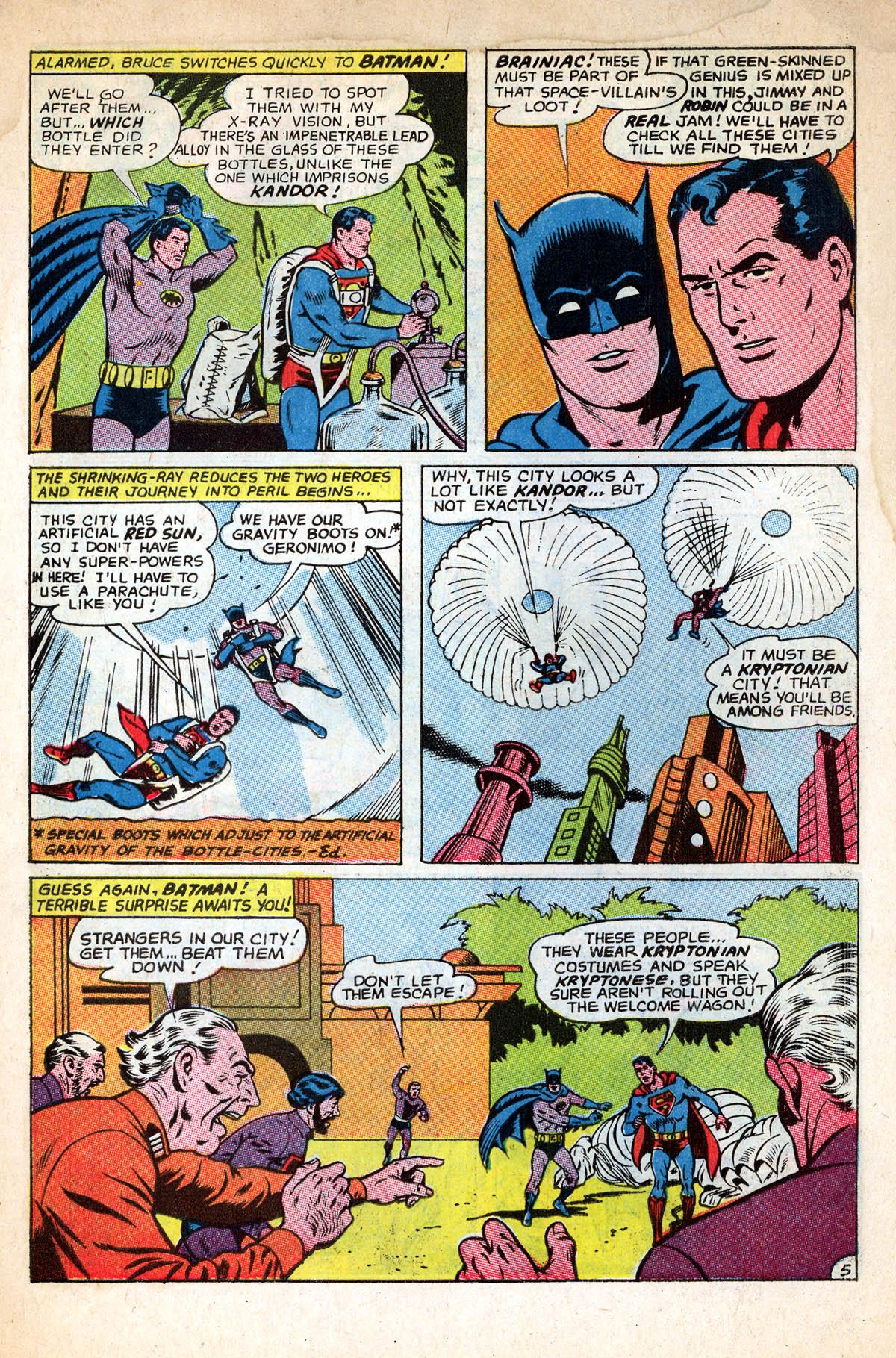 Read online World's Finest Comics comic -  Issue #158 - 7