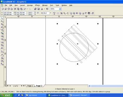 Membuat Logo TELKOM dengan Corel Draw