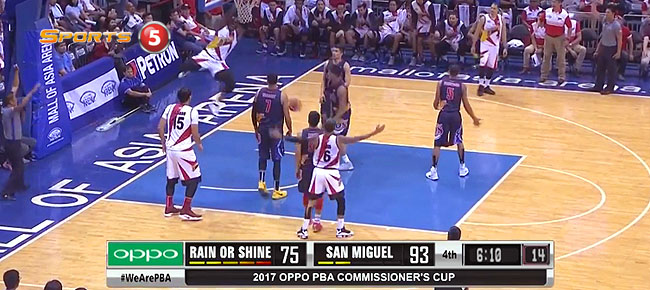 San Miguel def. Rain or Shine, 111-98 (REPLAY VIDEO) April 22