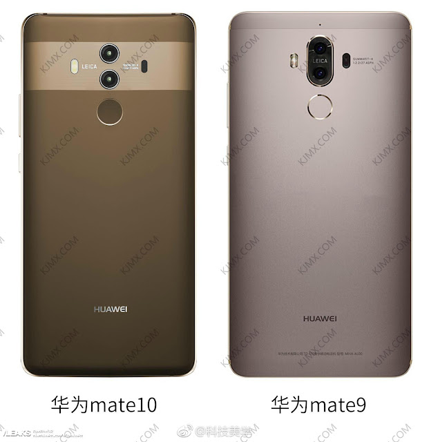 Huawei Mate 10 Pro Spotted Posing Next To The Huawei Mate 9 In A Fresh Leak