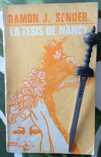 Portada del libro La tesis de Nancy, de Ramón J. Sender