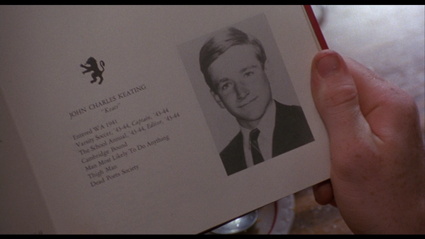 Phipps Film: Dead Poets Society (Peter Weir, 1989)
