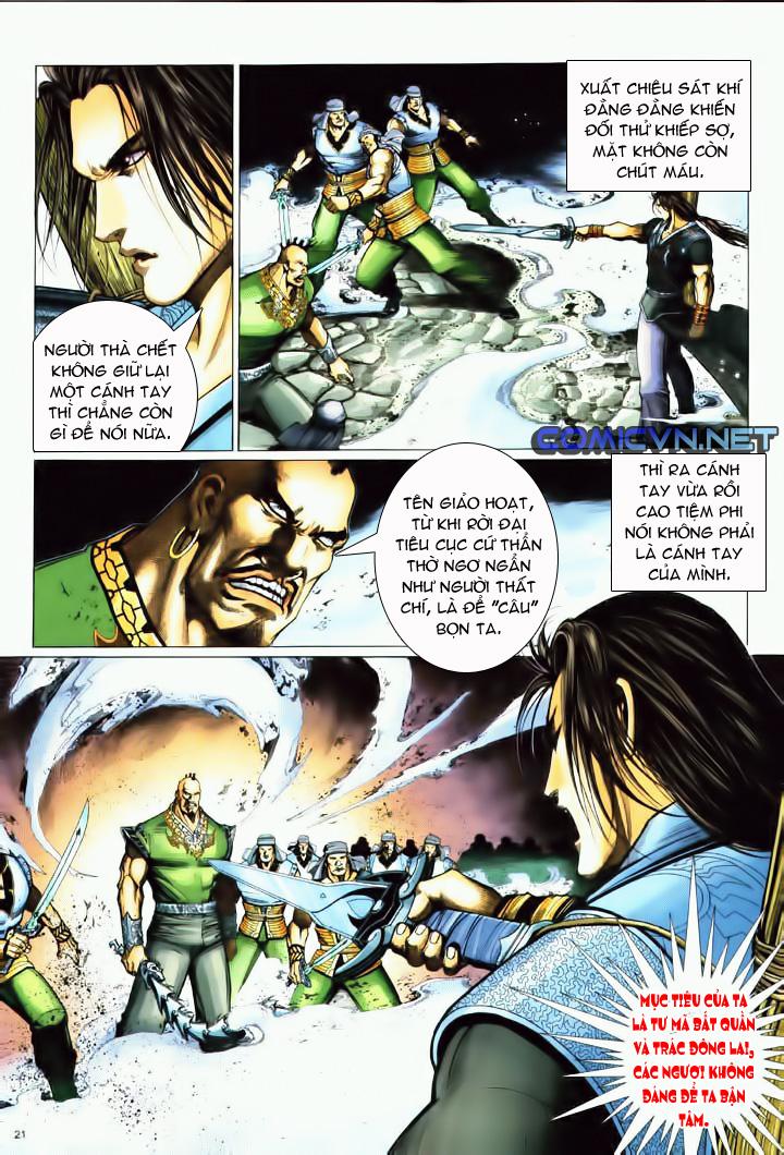 Anh hùng vô lệ Chap 10 trang 18