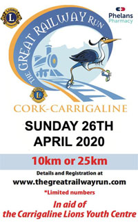 25k & 10k in Cork Harbour - Sun 26th Apr 2020