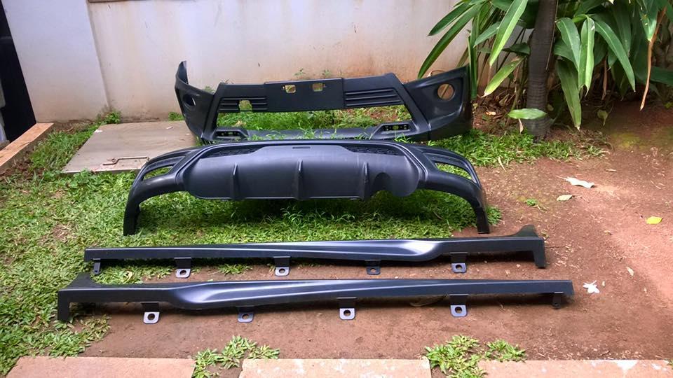 Bodykit All New Yaris Trd Harga Mobil Agya Macam2 Carbon Fiber Terlengkap