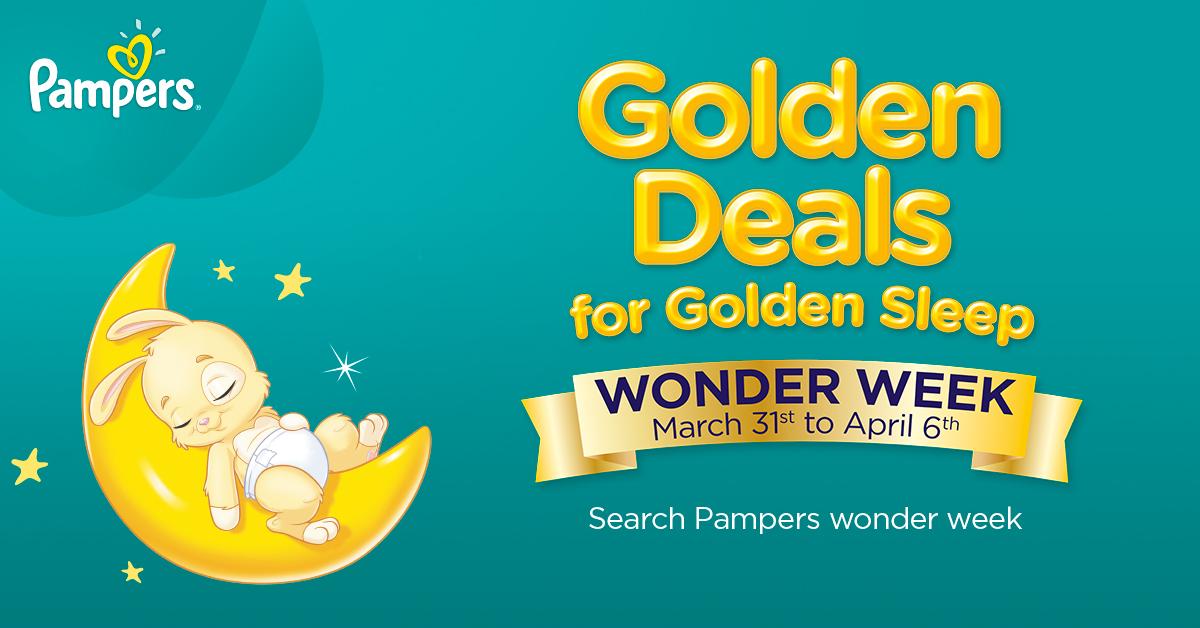 Pampers Bring Back Wonder Week Significant Savings On