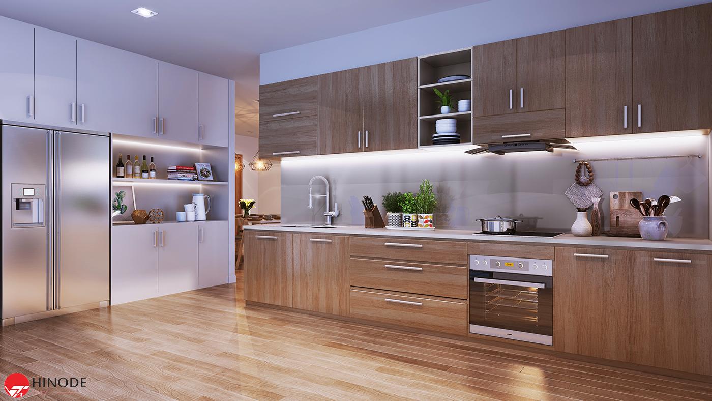 Thiết kế bếp của dự án Hinode City