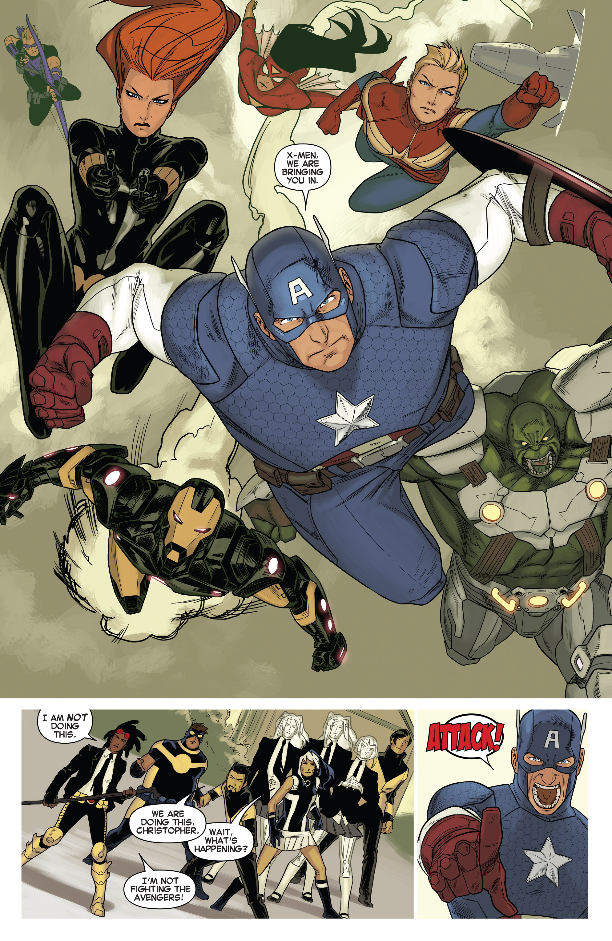 Read online Uncanny X-Men (2013) comic -  Issue # _TPB 5 - The Omega Mutant - 13