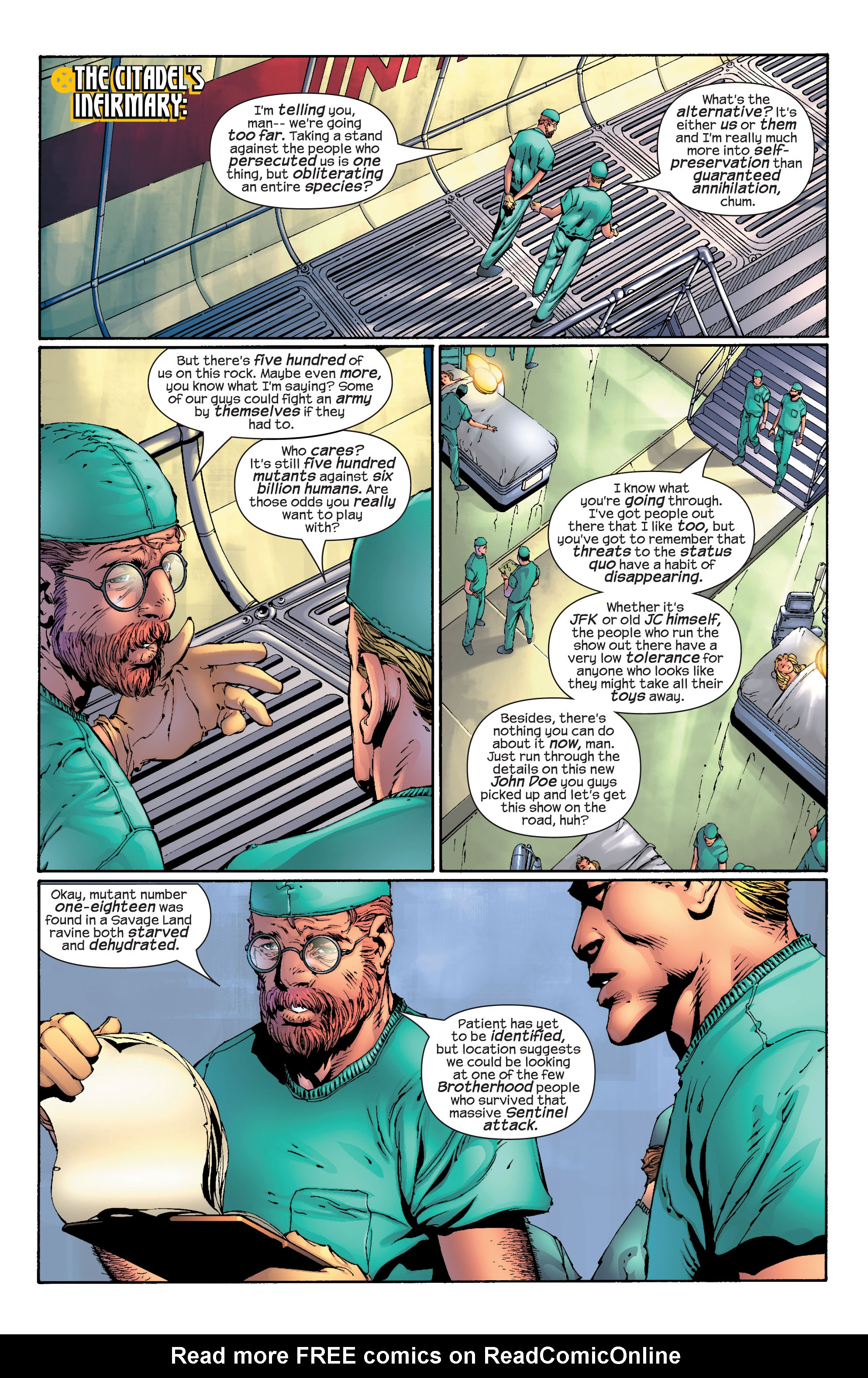 Read online Ultimate X-Men comic -  Issue #30 - 7