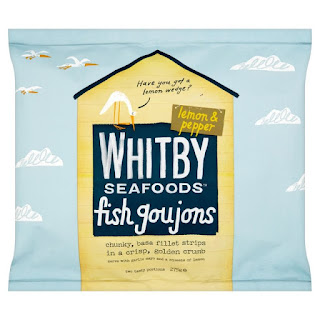 Whitby Seafood Lemon and Pepper Fillet Goujons