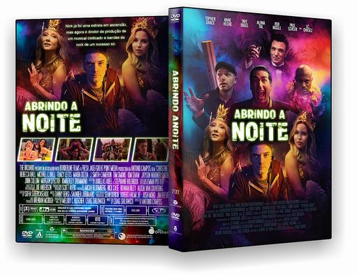 DVD-R Abrindo a Noite – AUTORADO