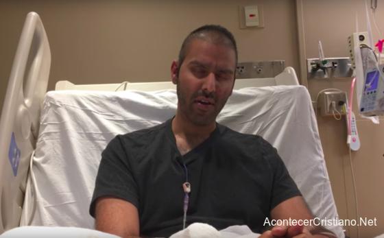 Ex musulmán convertido a Cristo Nabeel Qureshi con cáncer