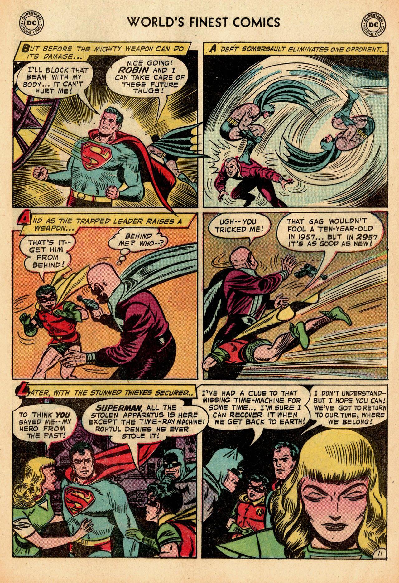 Read online World's Finest Comics comic -  Issue #91 - 13
