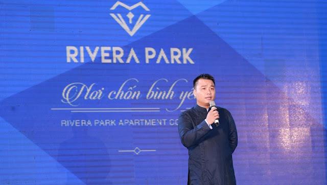 Đại diện đơn vị sản xuất TVC dự án Rivera Park