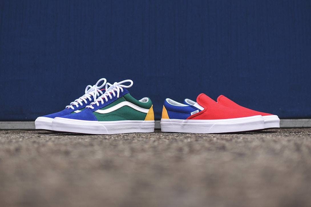 Vans recently dropped a special footwear pack inspired by the sailing flags  of yacht clubs. The limited range consists of color-blocked Old Skool and  ... 395815224