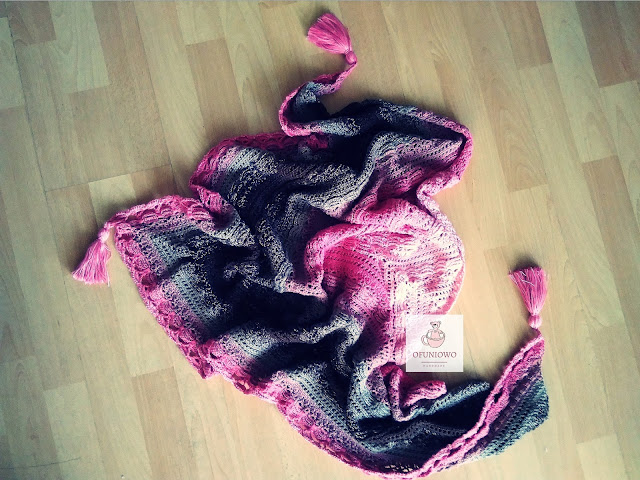 Shawl Lost in Time - Ofuniowo Handmade