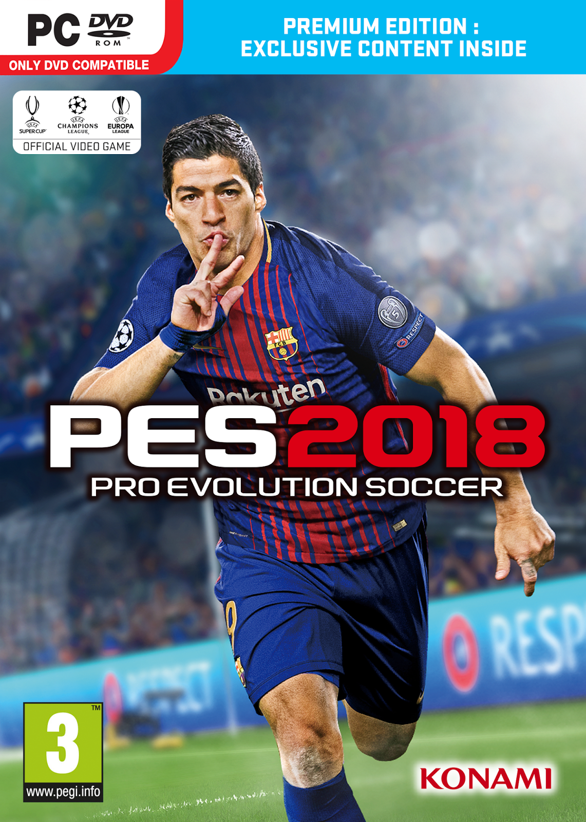 Pro Evolution Soccer 2018 ESPAÑOL PC Full