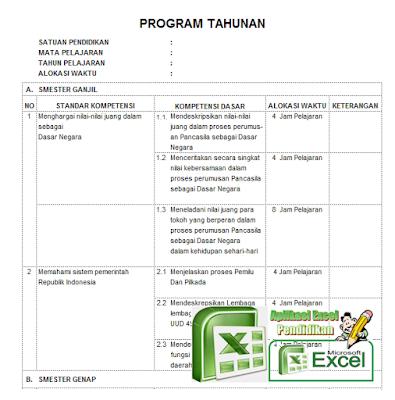 Download Aplikasi Prota Plus Promes Excel Terbaru dan Terlengkap