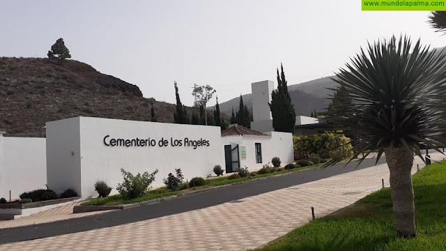 El Ayuntamiento de Los Llanos de Aridane acondiciona el cementerio municipal de Los Ángeles