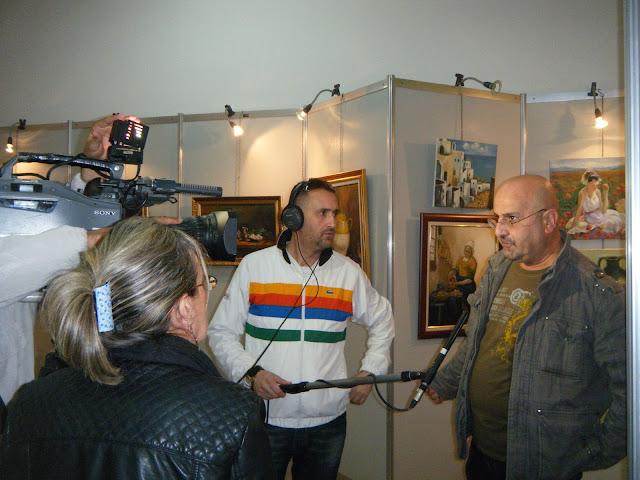 Exposition de peintures à La Galerie Aicha Haddad 5